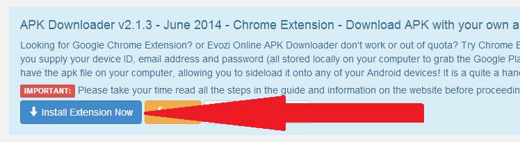 Cài thêm tiện ích mở rộng Evozi cho Google Chrome, Cốc Cốc... đại lại các trình duyệt sử dụng mã nguồn Chromium