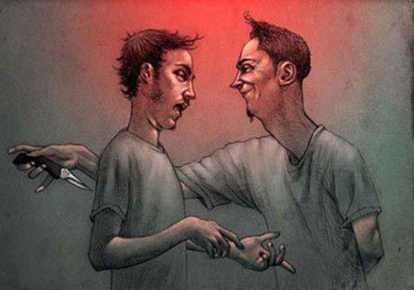 Đừng sợ hãi kẻ thù trước mặt mà hãy đề phòng những người bạn giả dối sau lưng