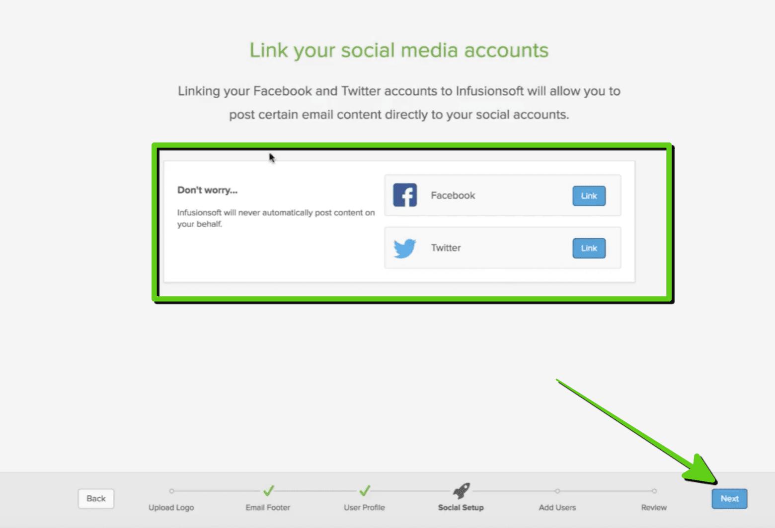 7. Kết nối mạng xã hội